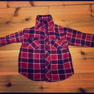 Quicksilver flannel long sleeve